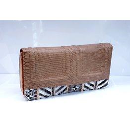 Brown Zebra Wallet