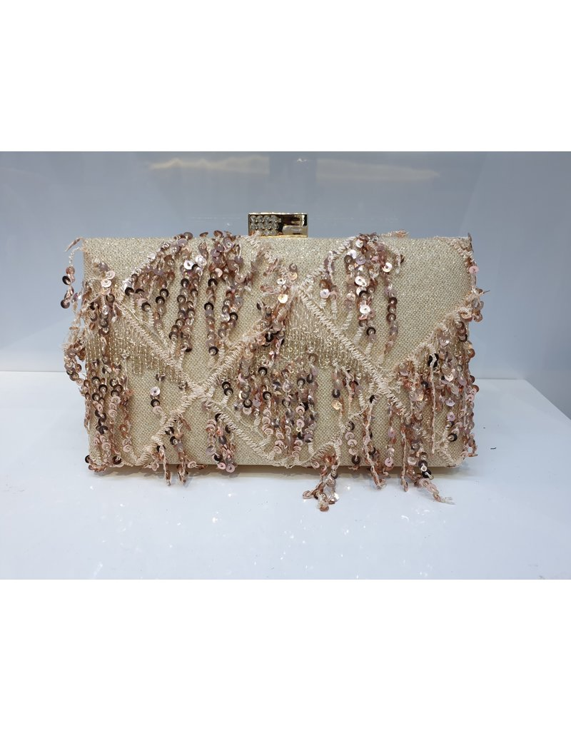 40241418 - Rose Gold Clutch Bag