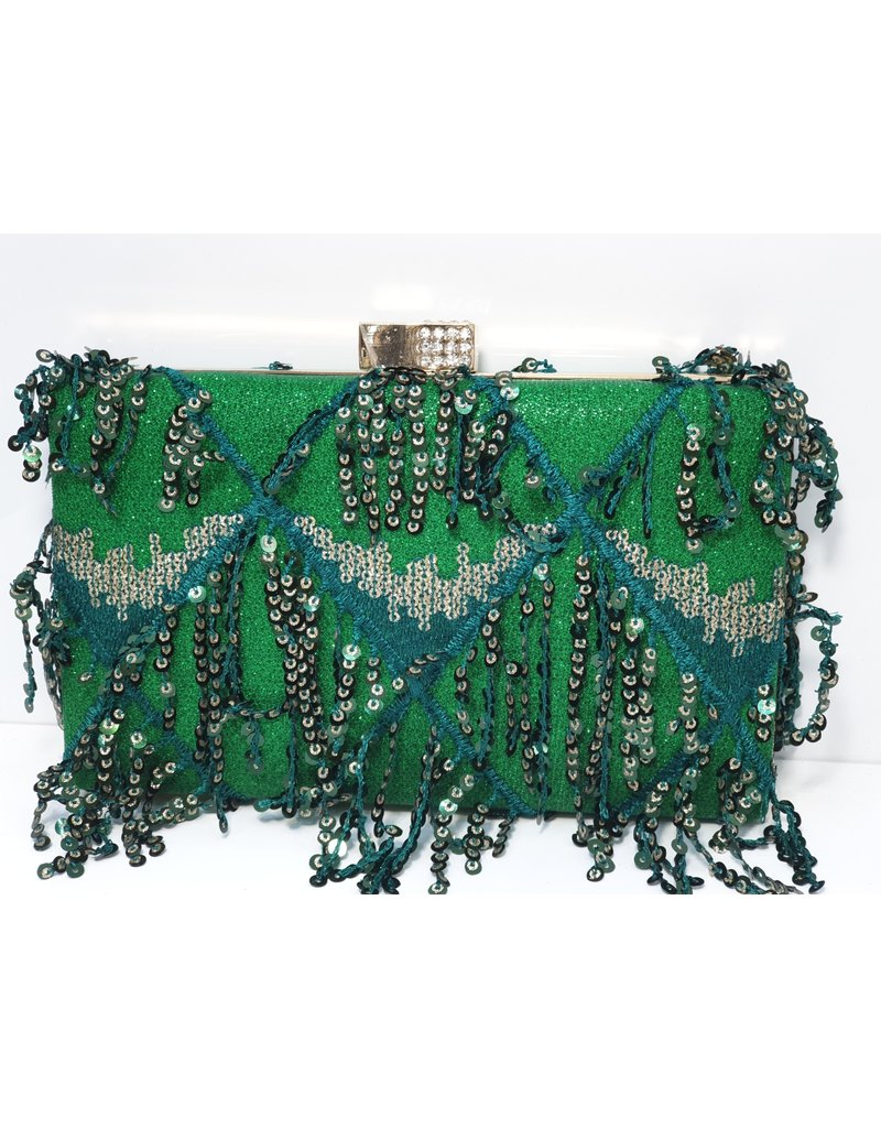 40241420 - Green Clutch Bag