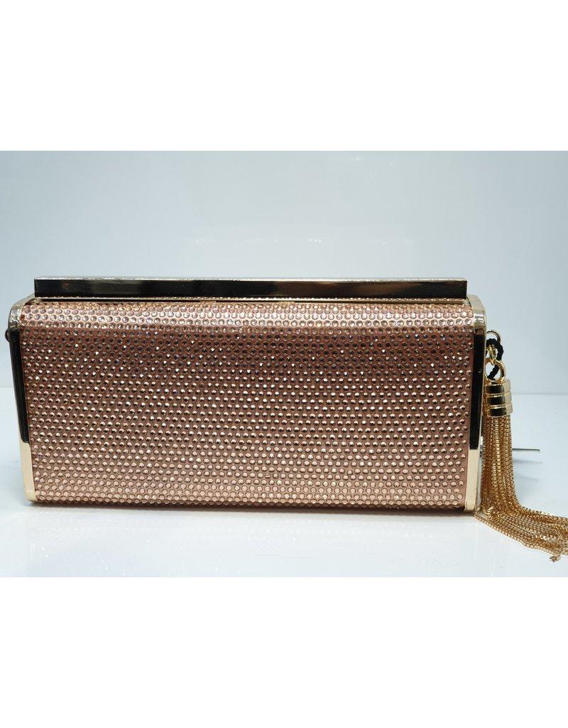40241428 - Rose Gold Clutch Bag