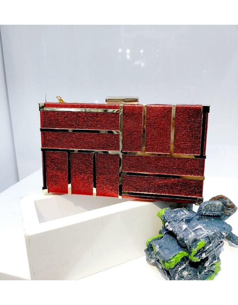 40241435 - Red Clutch Bag
