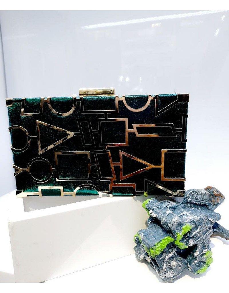 40241439 - Green Clutch Bag