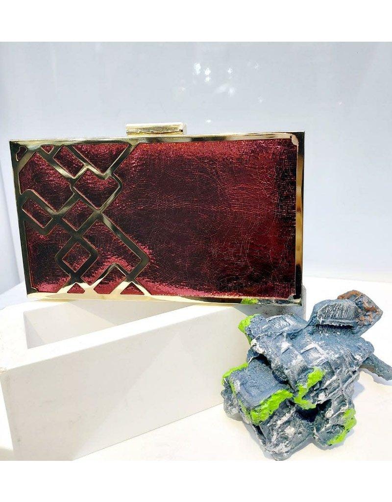 40241443 - Red Clutch Bag