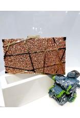 40241446 - Rose Gold Clutch Bag