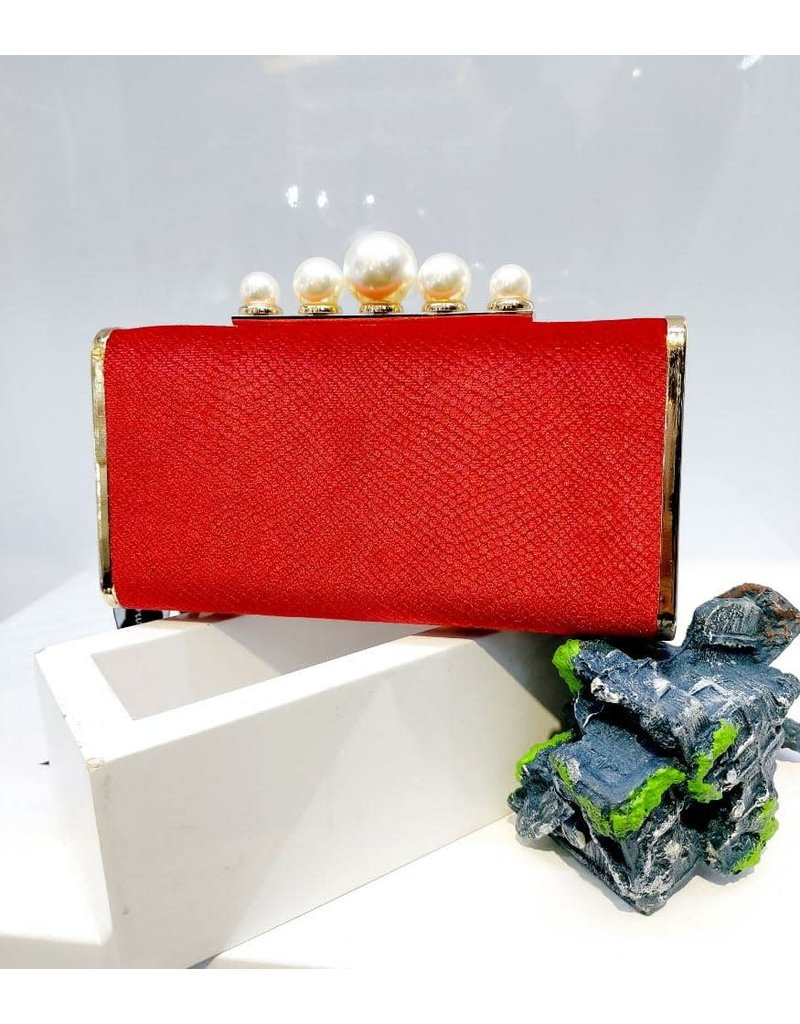 40241456 - Red Clutch Bag