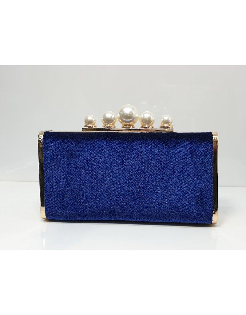 40241455 - Blue Clutch Bag