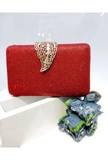 40241462 - Red Clutch Bag