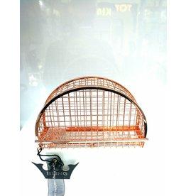 40241215 - Rose Gold Cage Clutch Bag