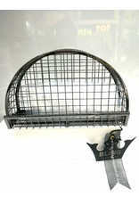 40241216 - Black Cage Clutch Bag