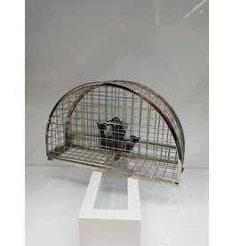 40241217 - Silver Cage Clutch Bag