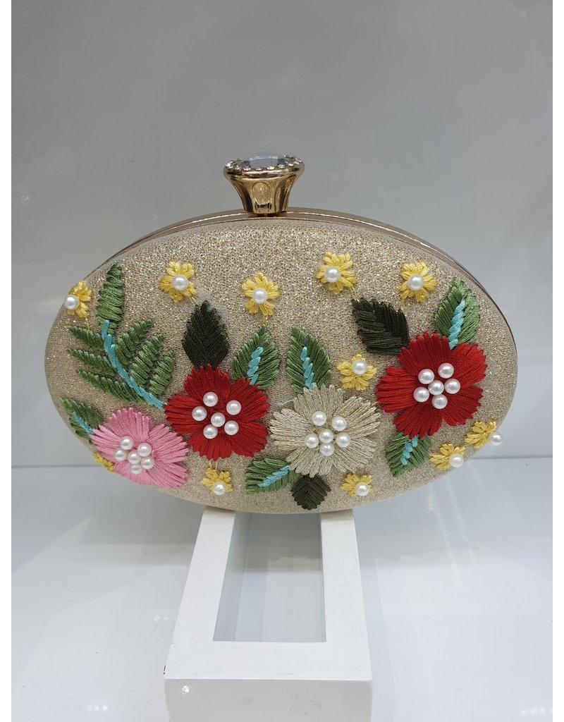 40241224 - Gold Clutch Bag