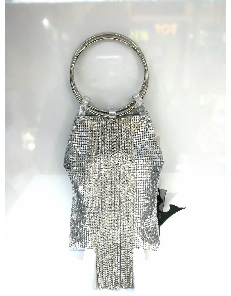 40241230 - Silver Clutch Bag