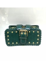 40241236 - Blue-Green Clutch Bag