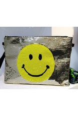 40241239 - Gold Smiley Clutch Bag