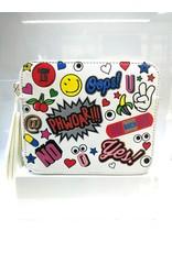 40241242 -  Trendy Sling White Clutch Bag