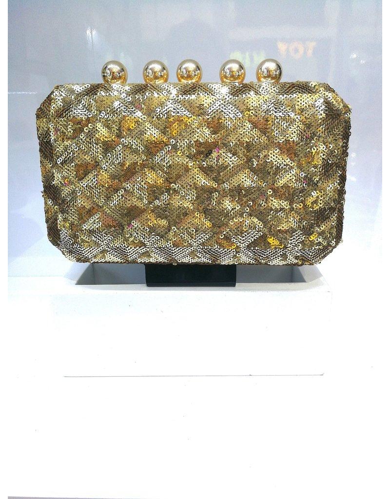 40241268 - Gold Clutch Bag