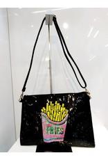 40241297 - Fries Small Black Clutch Bag