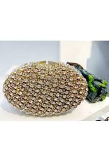 40241312 - Gold Diamond Clutch Bag