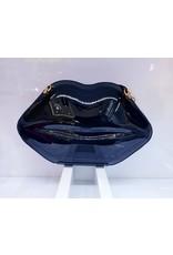 40241321 - Black Lips Clutch Bag