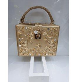 40241323 - Gold Box Clutch Bag