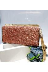 40241409 - Rose Gold Clutch Bag