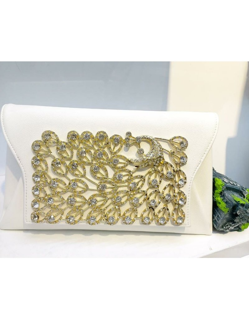 40241300 - White Envelope Clutch Bag