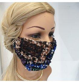 60250117 - Sec Sequin Multicolour Mask