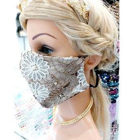 60250144 -  Black, Silver Mask