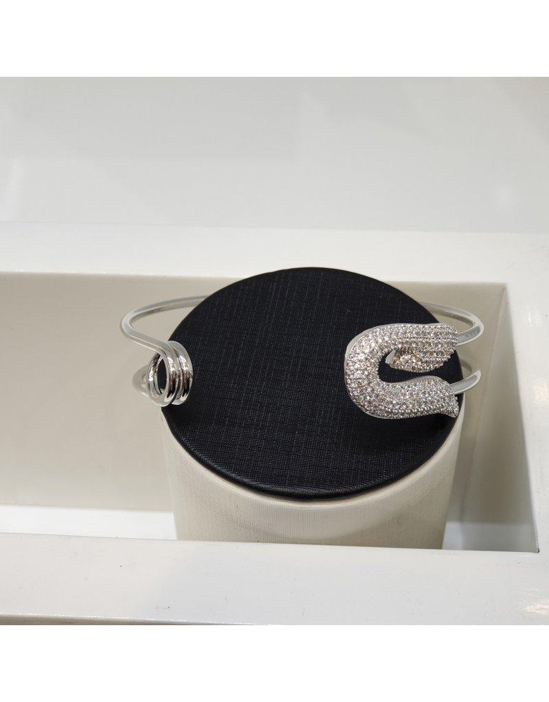 C167 - Silver Bangle