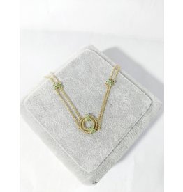 SCA0011-Gold,Green Short Chain