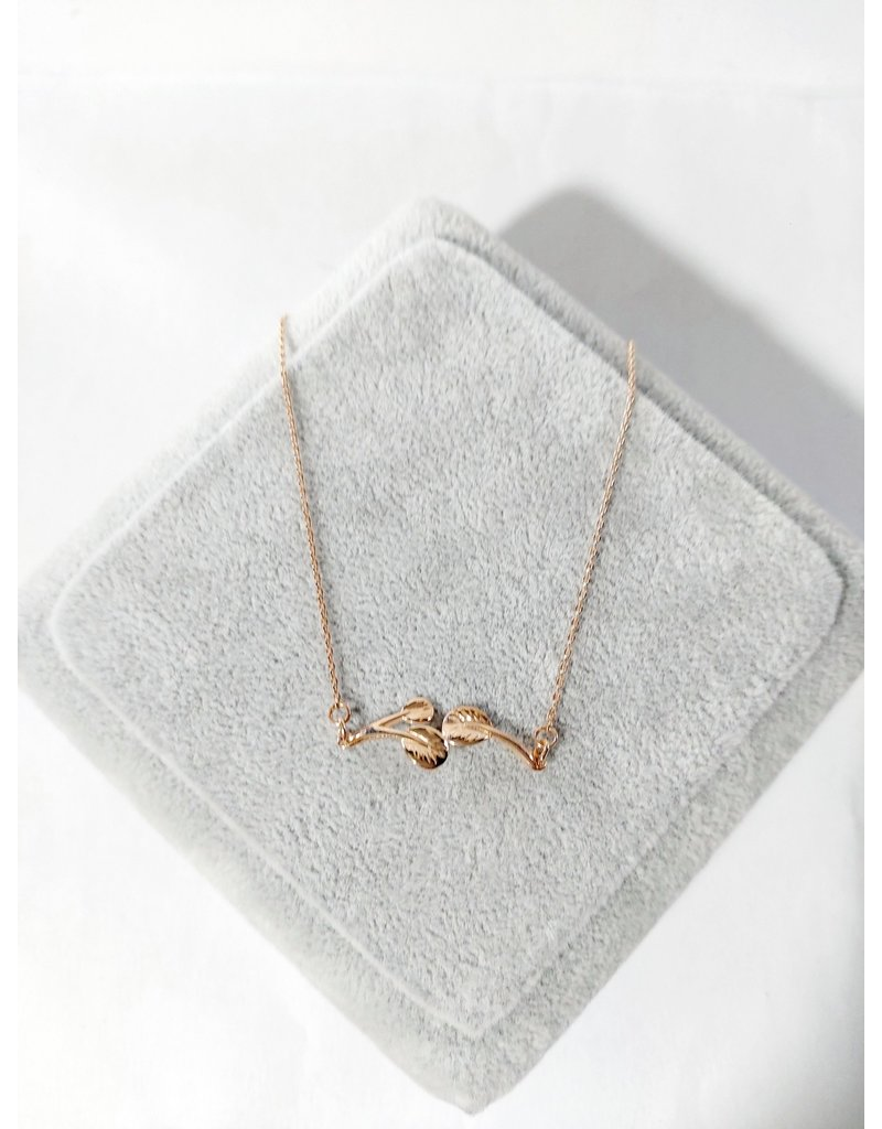 SCA0022-Rose Gold Short Chain