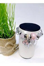 BAE0011-Pink Star Charm Bracelet