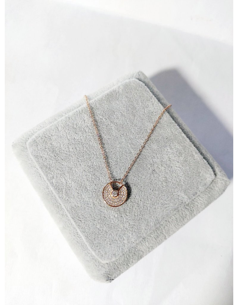 Scb0082 - Rose Gold -  Short Chain