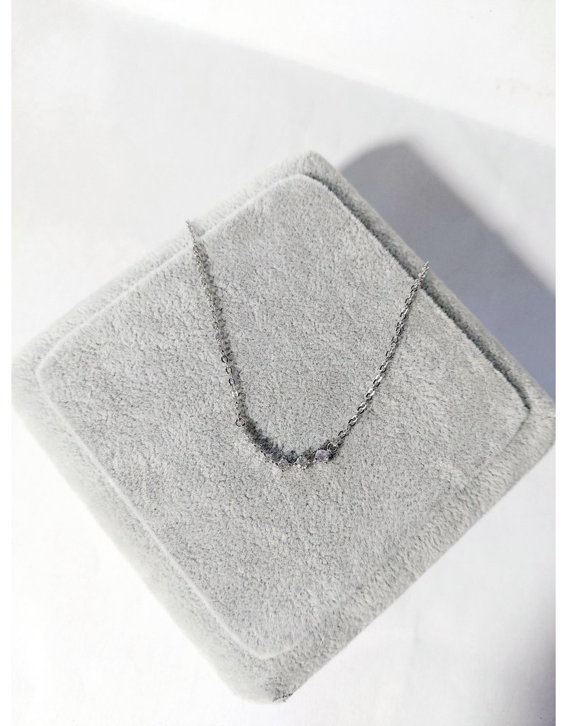 Scb0091 - Silver -  Short Chain