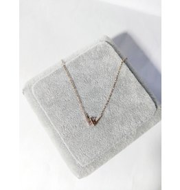 Scb0129 - Rose Gold W  Short Chain