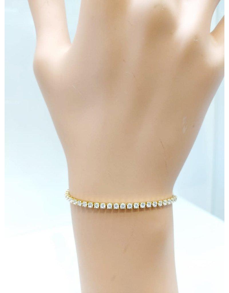 BCF0024-Gold, Silver Bracelet