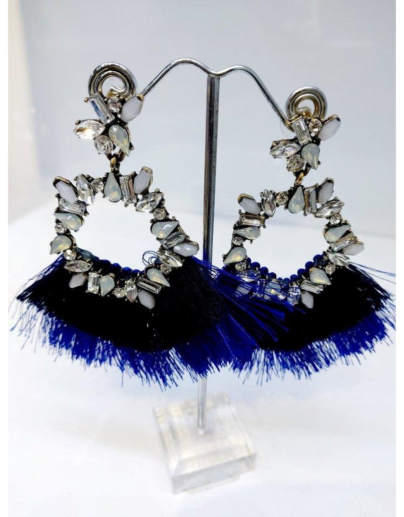 ERF0015 - TASSLE BLUE, WHITE