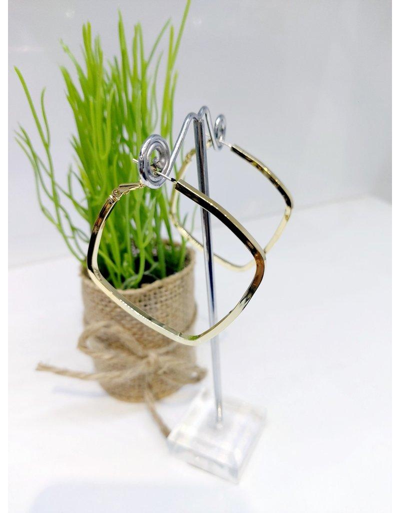 ERF0116 - Gold Hoop Earring