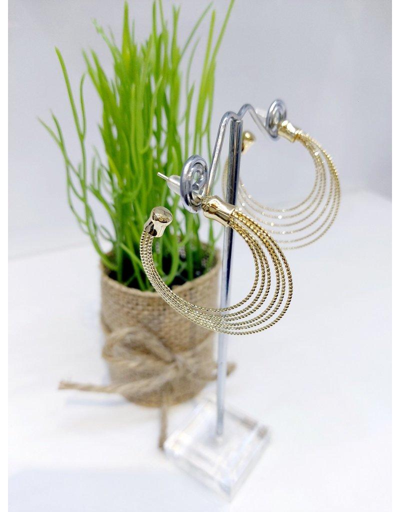 ERF0125 - Gold  Earring