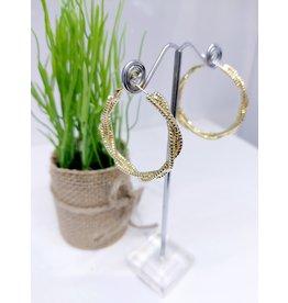 ERF0151 - Gold Hoop Earring