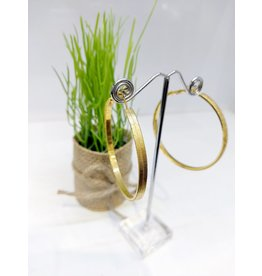 ERF0168 - Gold, Large Hoop Earring
