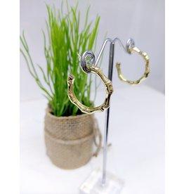 ERF0179 - Gold,  Hoop Earring