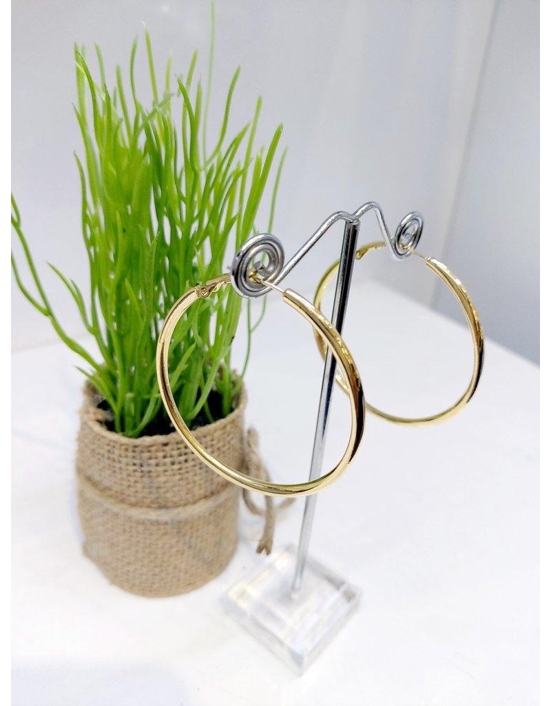 ERF0202 - Gold,  Hoop Earring