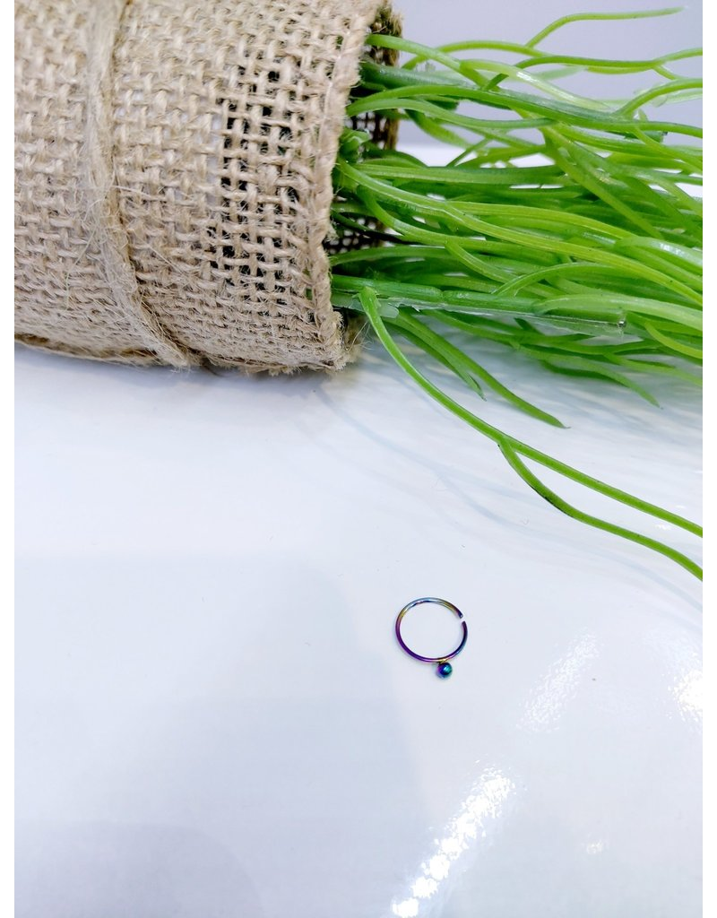 NRB0020 - Multicolour Hoop Nose Ring