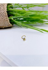 NRB0023 - Gold Star Gold Nose Ring