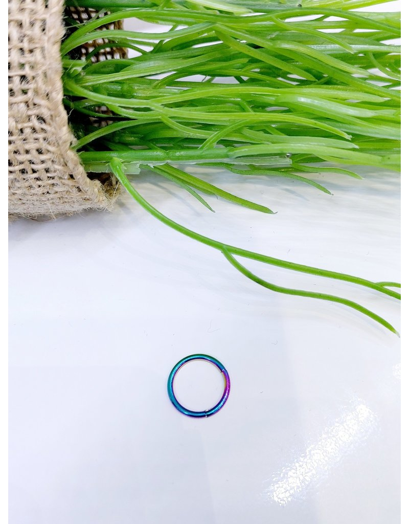 NRB0026 - Multicolour Multicolour Hoop Nose Ring