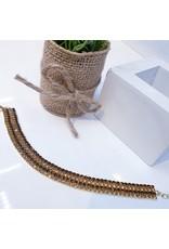 BCF0082 -  Gold Bronze Bracelet