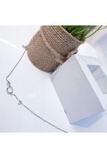 BCF0119 -  Silver Infinity Bracelet