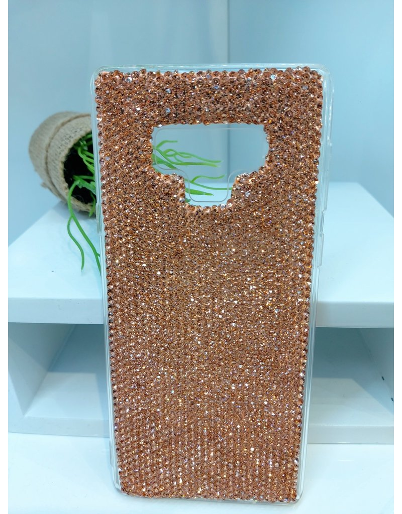 CLF0002 - Rose Gold Samsung Note 9 Cover