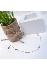 ANG0015 -  Silver Infinity Anklet